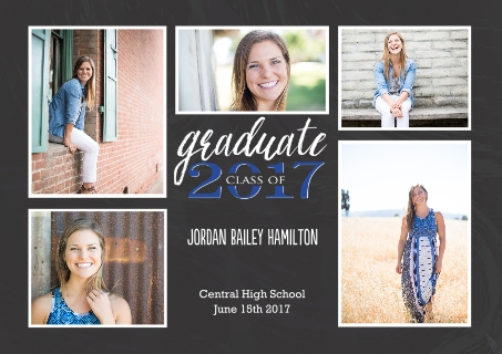2017 Graduation Announcements Grad Announcements – Snapfish Graduation Invitations