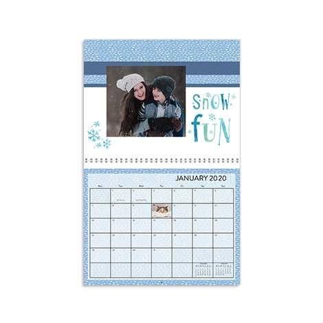 """11x8.5"""" Wall Calendar"""