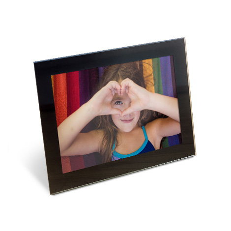 "7x5"" Framed Photo Print of young girl"