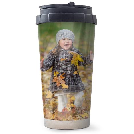 16oz Travel Personalised Photo Mug