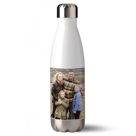 Personalised Photo Water Bottle