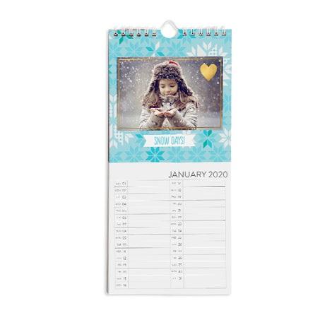 """5.5x12"""" Kitchen Calendar"""