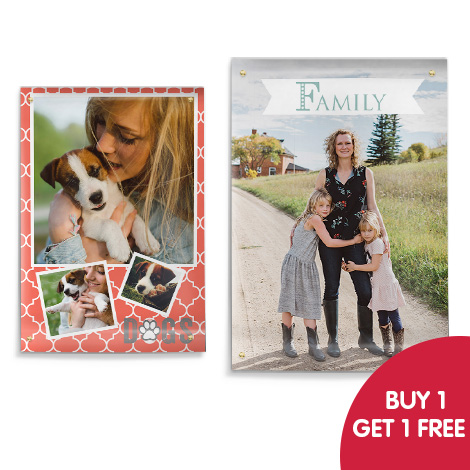 Buy 1 get 1 free on posters