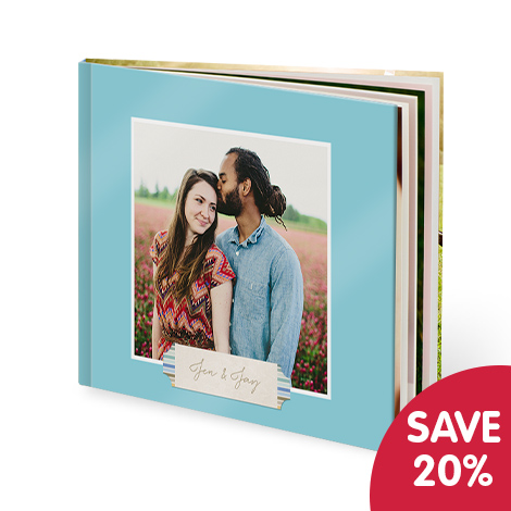 Save 20% on all photo books