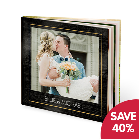 "Save 40% on 12x12"" photo books"