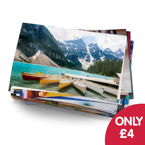 Only £4 for 50 6x4 prints! including delivery