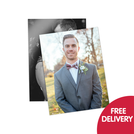 Free delivery on prints when you spend £5 or more