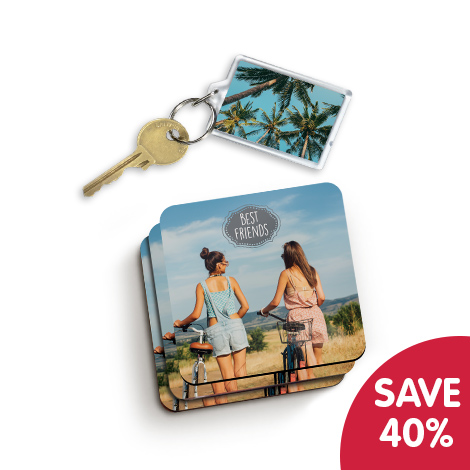 Save 40% when you buy 2 photo gifts