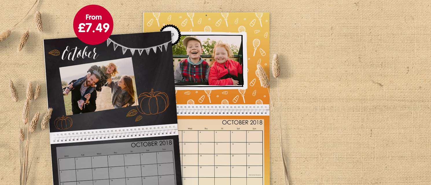 """Our product of the week! : Don't miss out! - 1/2 Price on 11x8.5"""" classic wall calendars- use codeBPHPCAL by 26/10"""