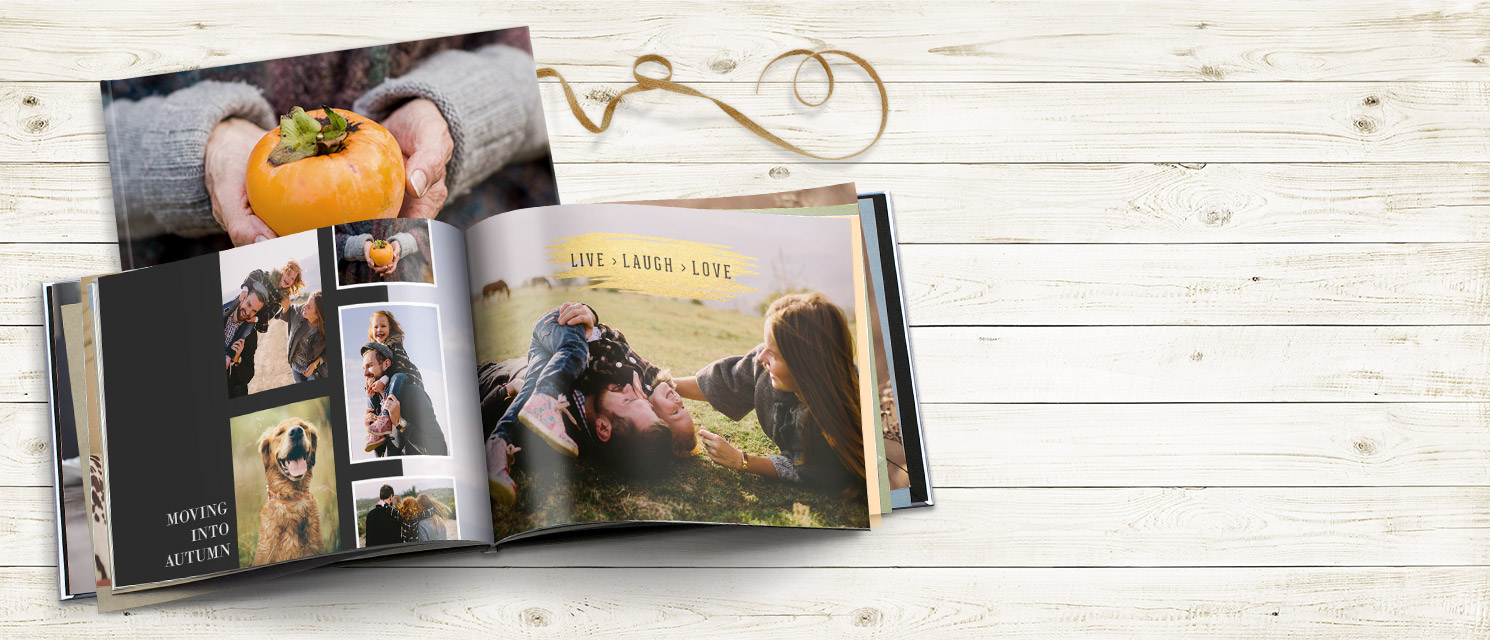 "Quick! : Better than half price 15.5x11.5"" Photo Book - use code BPBHPBK by 19/10"
