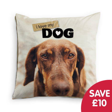 "Save £10 on 24x24"" Cushion"