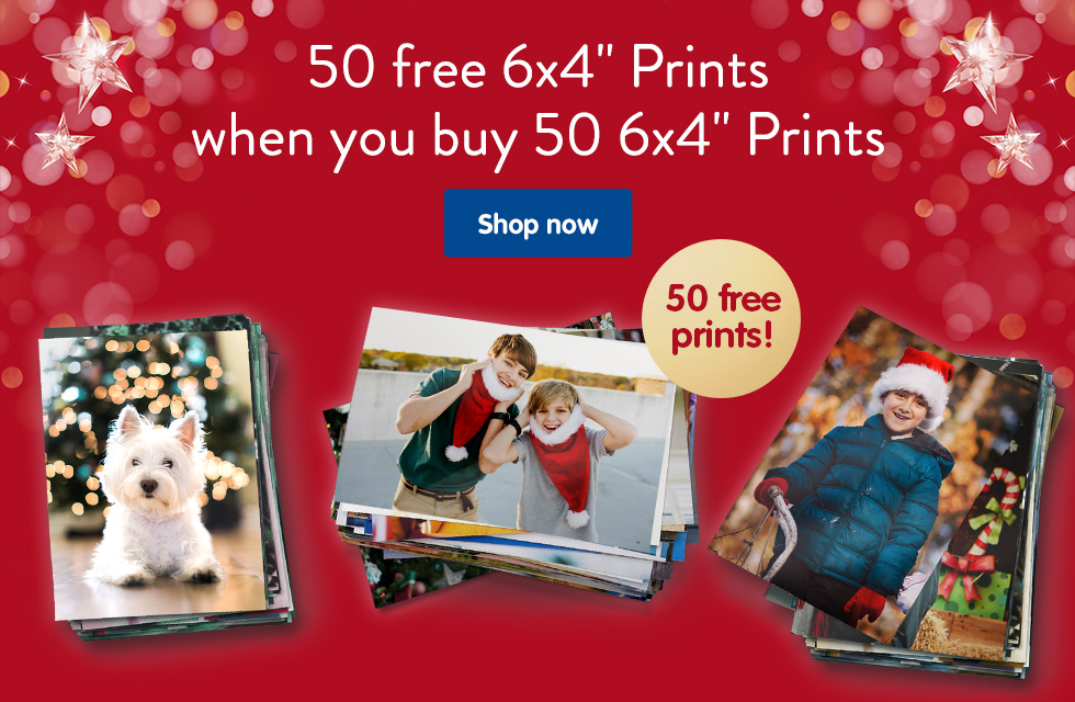 "50 free 6x4"" Prints when you buy 50 6x4"" Prints"