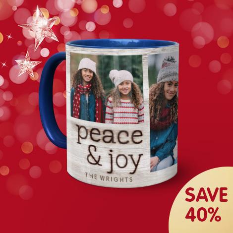 Save 40% on 11oz standard mugs