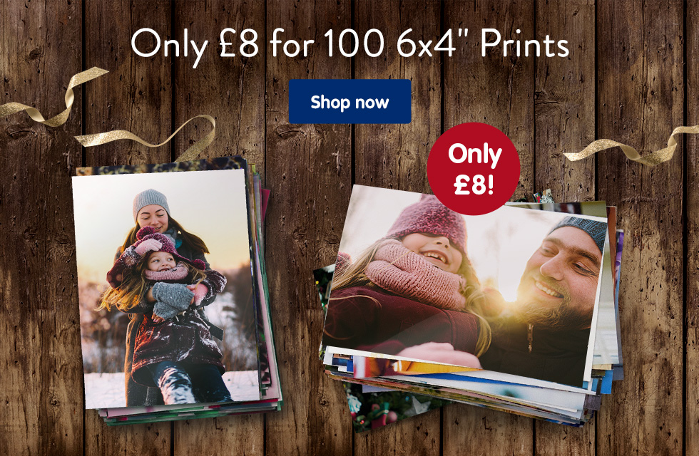 "Only £8 for 100 6x4"" Prints"