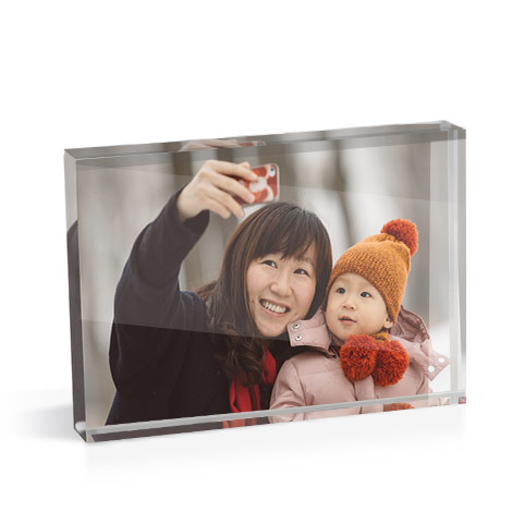 A6 Acrylic Photo Block