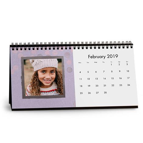 """10x5"""" Desk Calendar"""