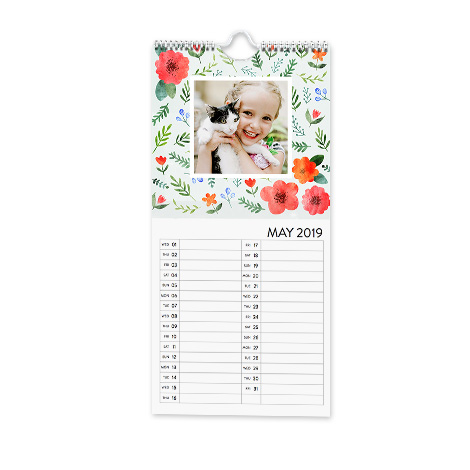 "5.5x12"" Kitchen Calendar"
