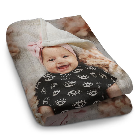 60x50'' Plush Photo Blanket
