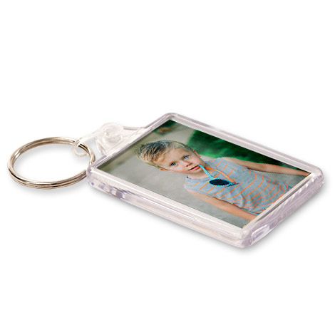 Personalised Acrylic Photo Keyring