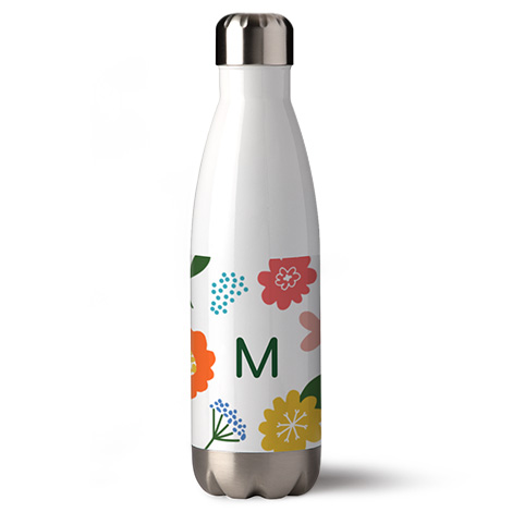 500ml (17oz) Personalised Photo Water Bottle