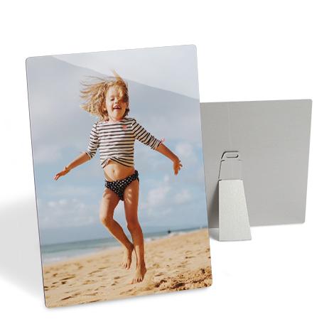 """10x8"""" Aluminium Photo Print of girl jumping"""