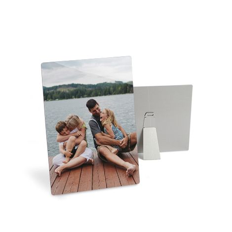 """7x5"""" Aluminium Photo Prints of family"""