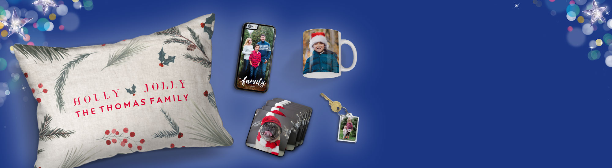 Personalised Christmas gifts for everyone!