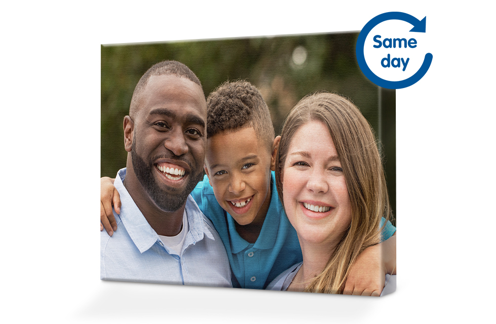 Same Day Collect Canvas Prints
