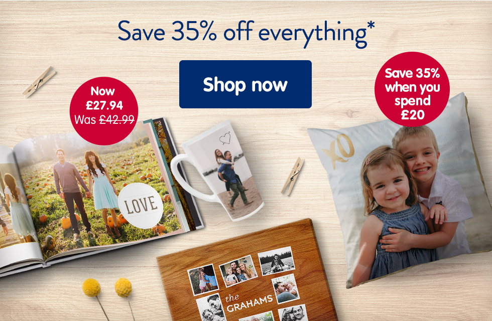 Save 35% off everything