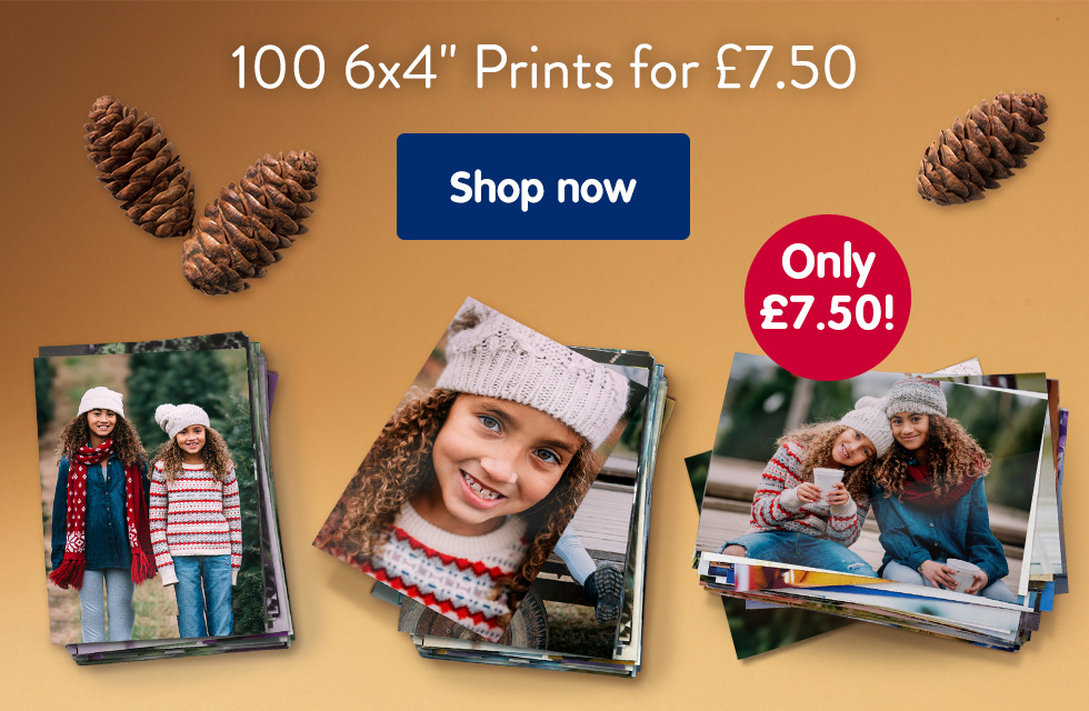"""100 6x4"""" Prints for £7.50"""
