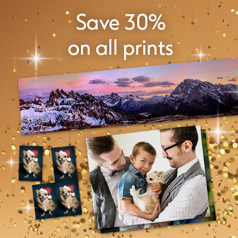 Save 30% on all prints