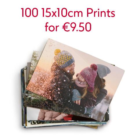 100 15x10cm Prints for €9.50
