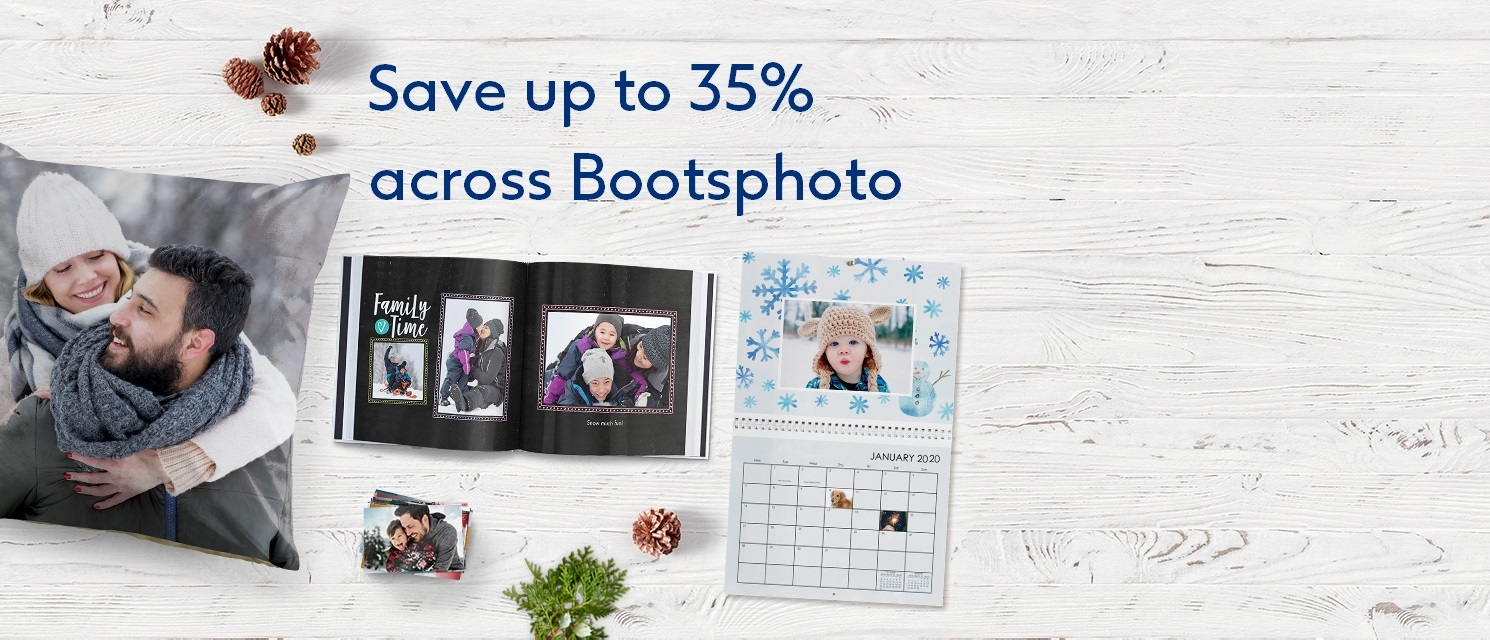 Spend and save up to 35% across bootsphoto.com