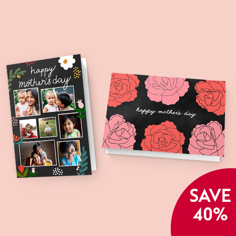 Save 40% on all cards