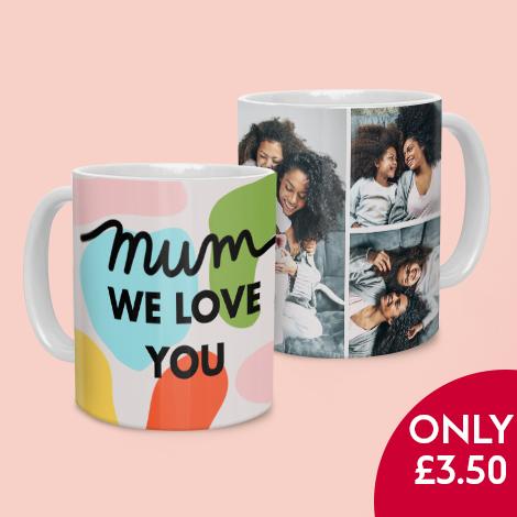 11oz White Photo Mug only £3.50!