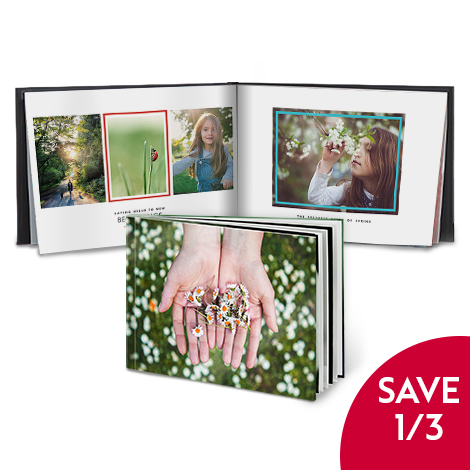 Save 1/3 on 28x20cm Hardcover photo books