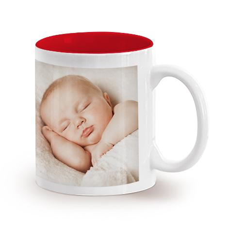 11oz Single & Collage Mug- Red