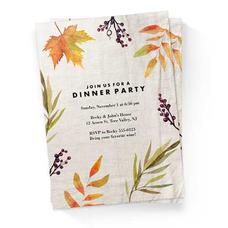 Invitations & Announcements
