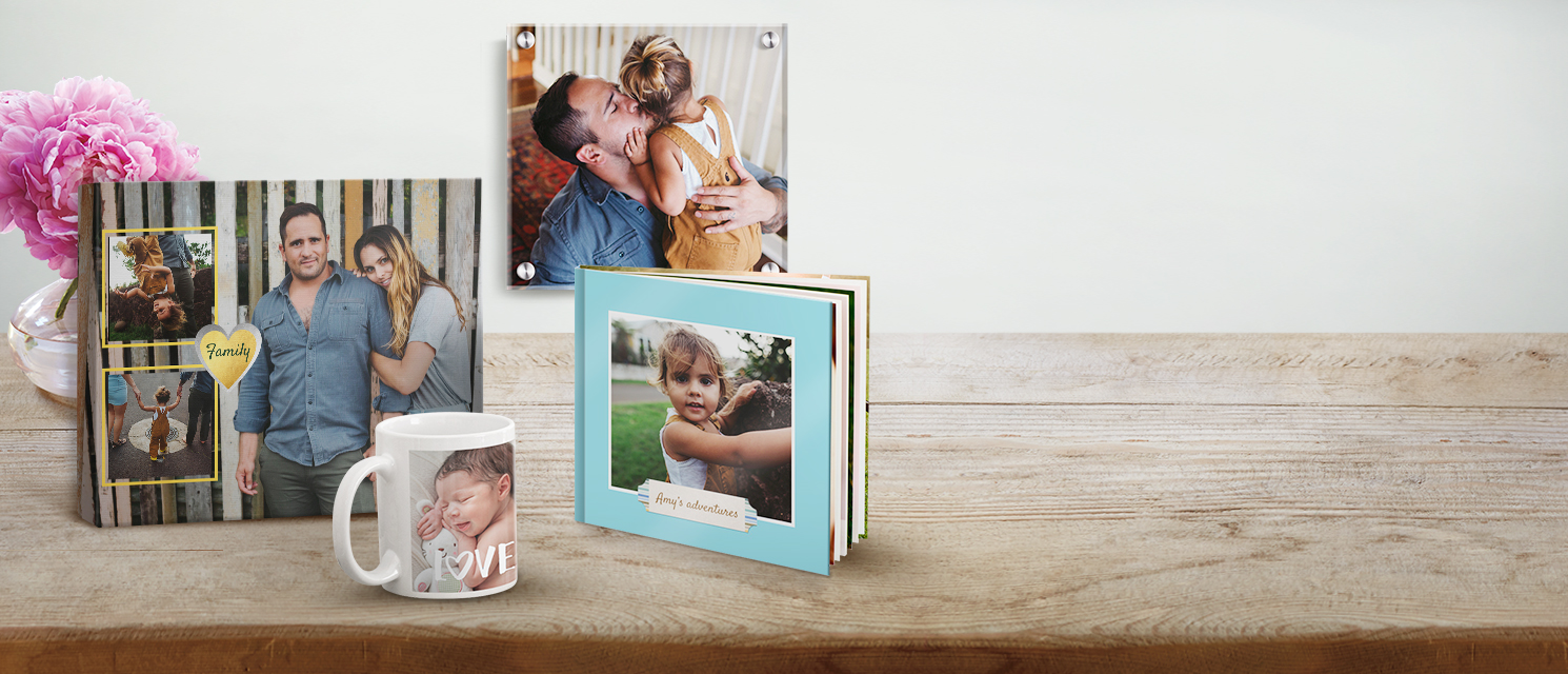 Use your favorite snaps to create beautiful gifts! : Personalised gifts are perfect to share for all occasions or even as a keepsake. Check out our offers for great savings on gifts.
