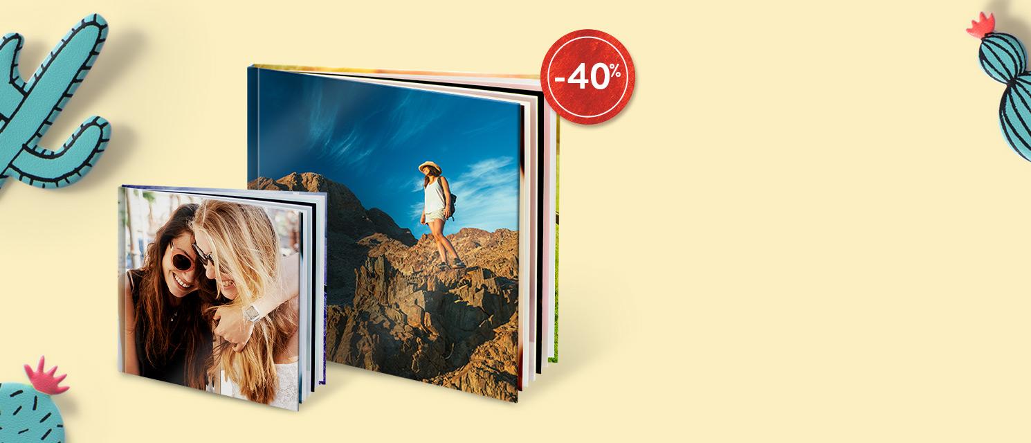 -40% sur les Livres photo : Code Promo : BOOK817
