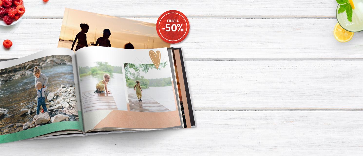 Fino a -50% sui FotoLibri