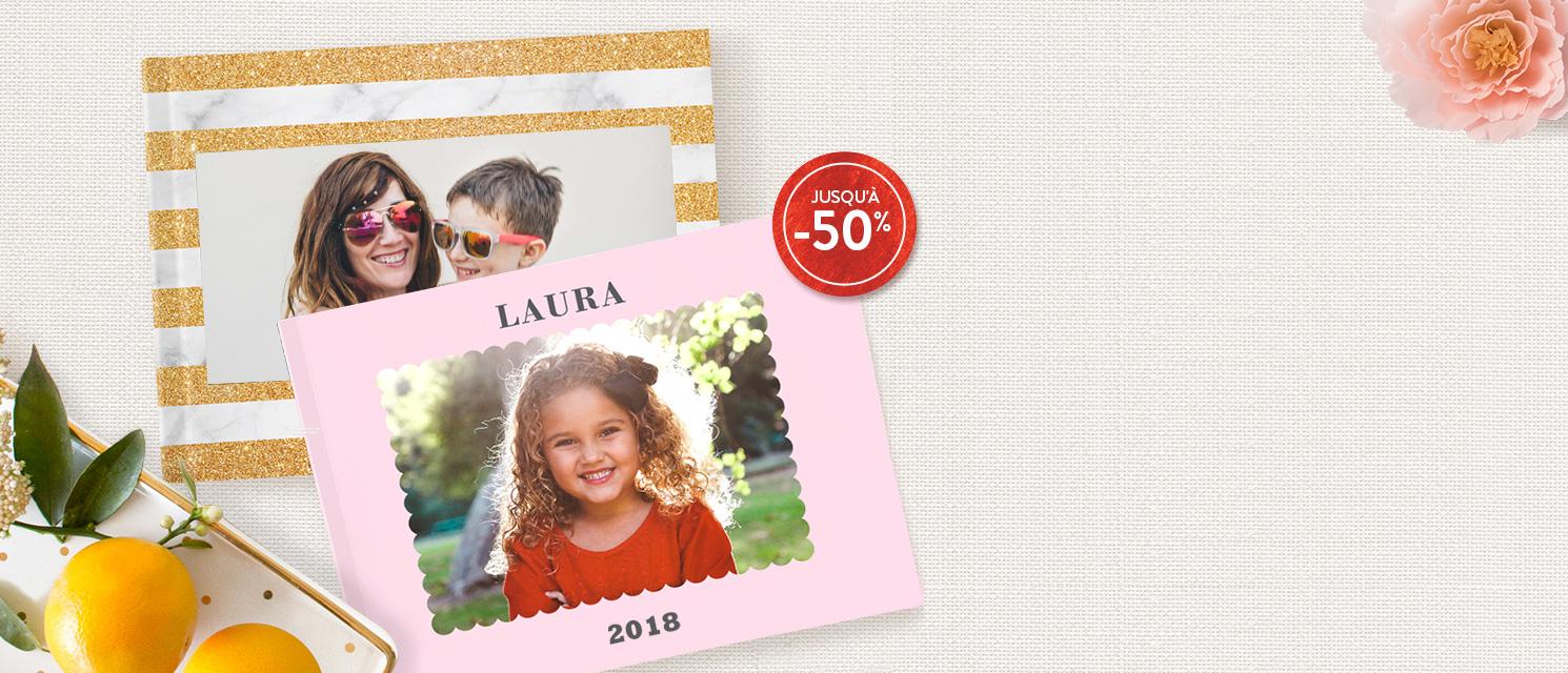 Livres Photo Jusqu'à -50%    : -40% entre 1 et 3 Livres Photo  -50% à partir de 4 Livres Photo Code Promo : 50BOOK418