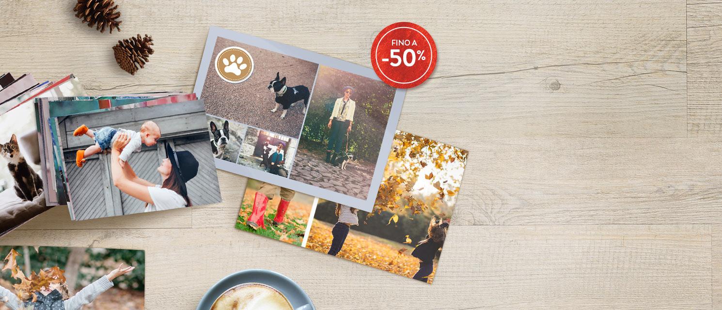 Fino a -50% sulle Stampe  : Stampe -40% Codice: PRINT1017 Stampe Collage -50% Codice: COLLAGE1017
