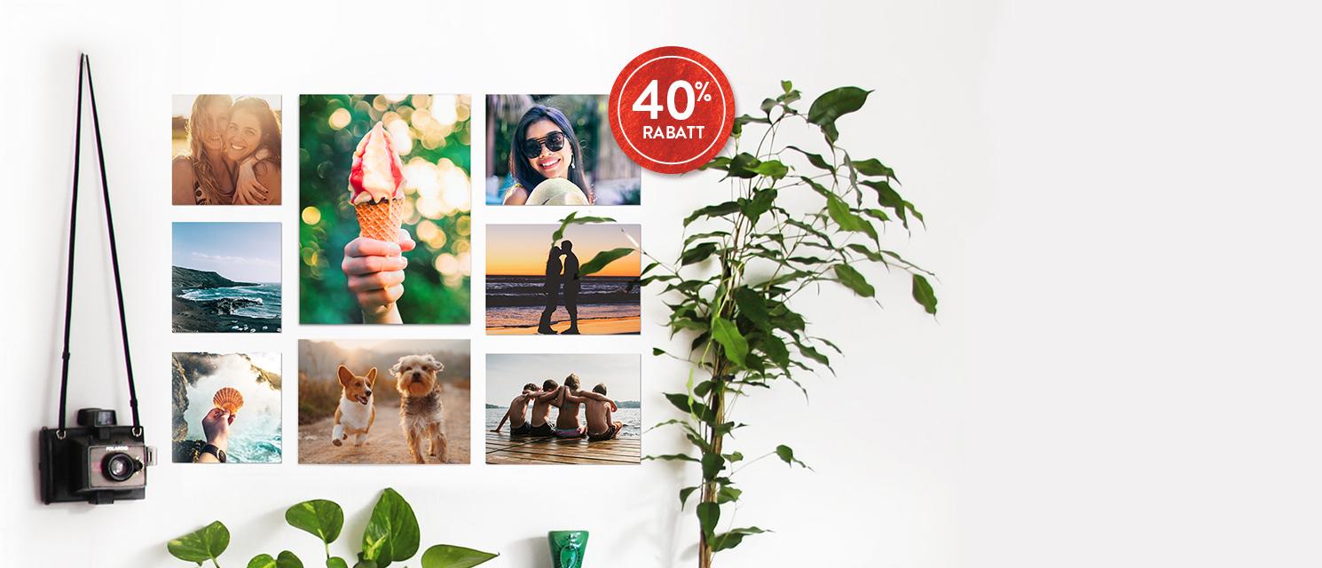 FOTOABZÜGE 40% RABATT