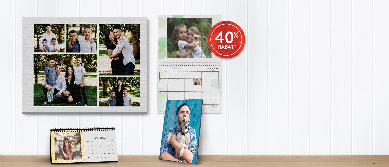 Kalender und Wanddeko  -40%