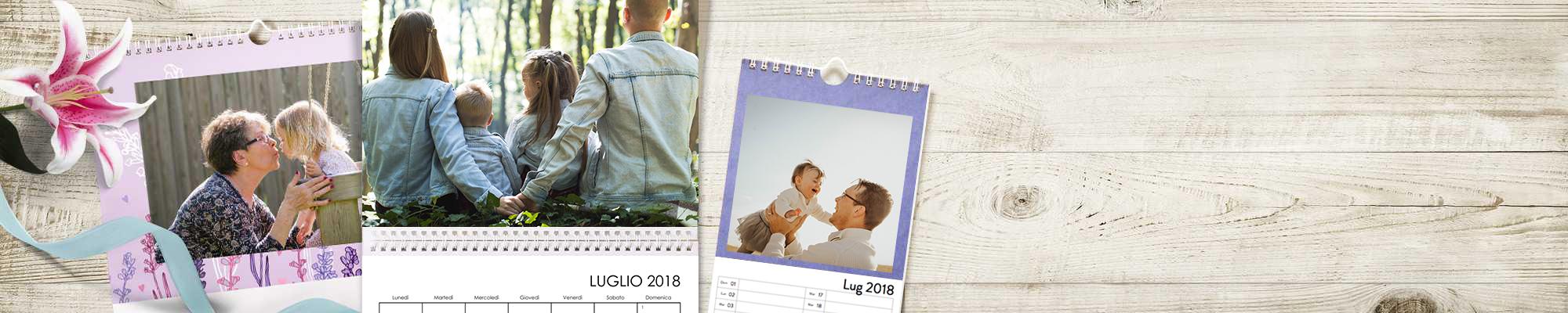 Foto Calendari Personalizzati Crea il tuo calendario. 365 giorni delle tue foto preferite, personalizzate con testi, disegni e sfondi. Rendi unico il tuo 2018.