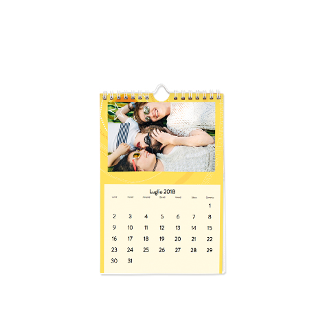 Calendario Classico A5