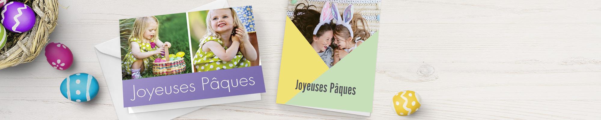 Cartes personnalisées avec photos