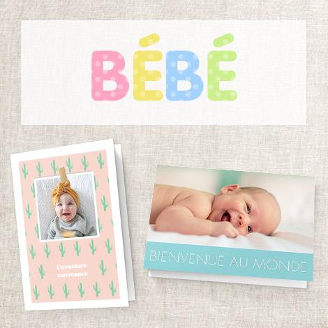 Cartes bébé