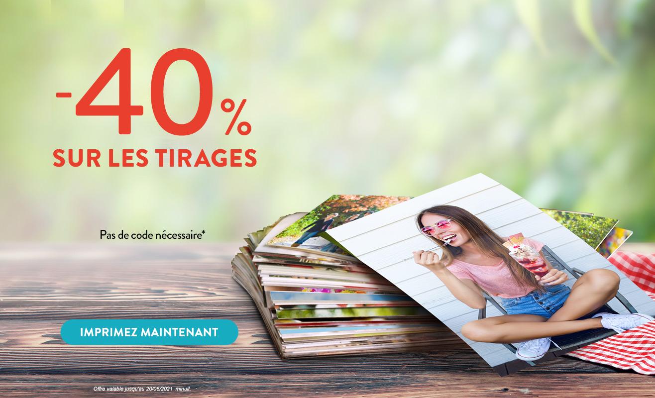 Tirages Photo -40%